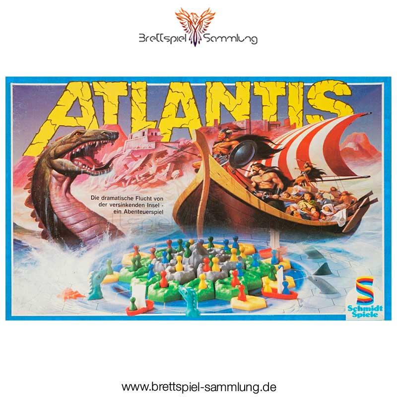 Brettspiel Sammlung Atlantis Spiel
