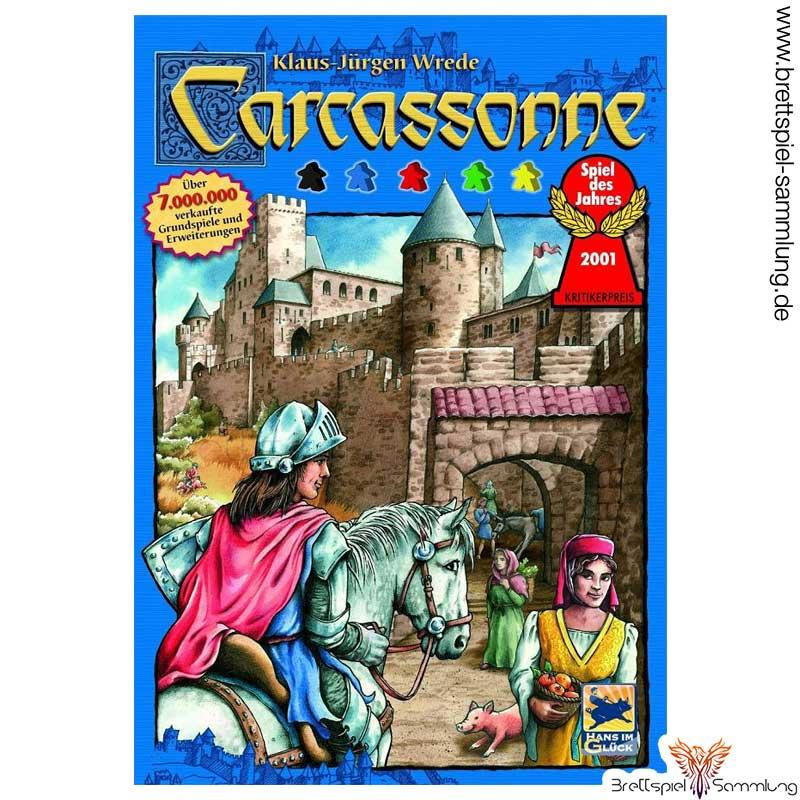 Brettspiel Sammlung Carcassonne Spiel