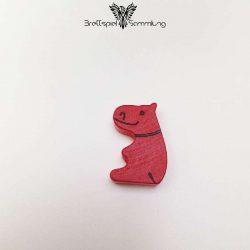 Das Nilpferd In Der Achterbahn Spielfigur Nilpferd Rot
