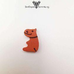 Das Nilpferd In Der Achterbahn Spielfigur Nilpferd Orange