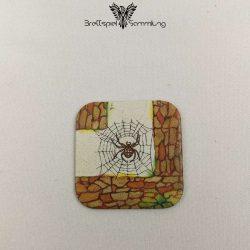Das Verrückte Labyrinth Gänge Karte Motiv Spinnennetz
