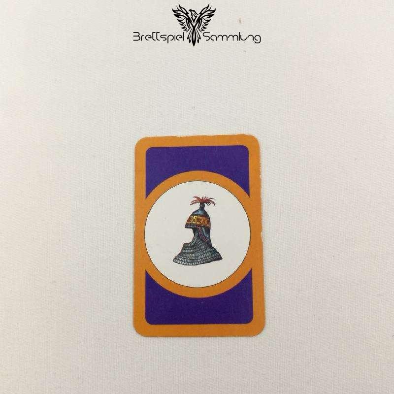 Das Verrückte Labyrinth Geheimniskarte Motiv Ritterhelm