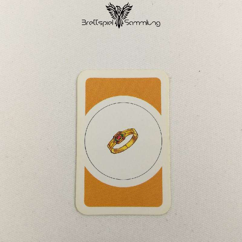 Das Verrückte Labyrinth Geheimniskarte Motiv Ring #2