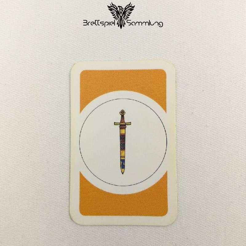 Das Verrückte Labyrinth Geheimniskarte Motiv Schwert #2