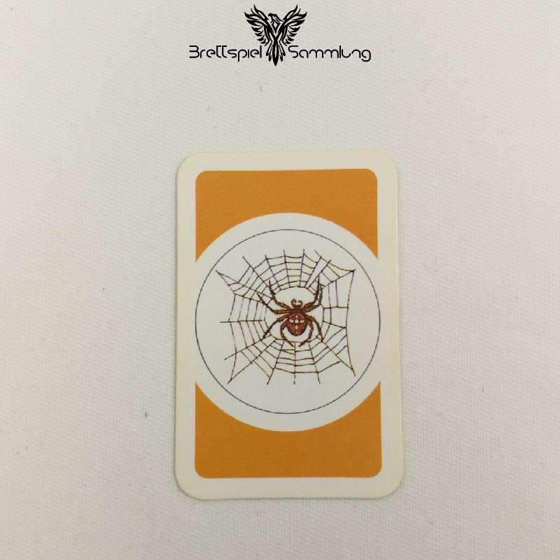 Das Verrückte Labyrinth Geheimniskarte Motiv Spinnennetz #2