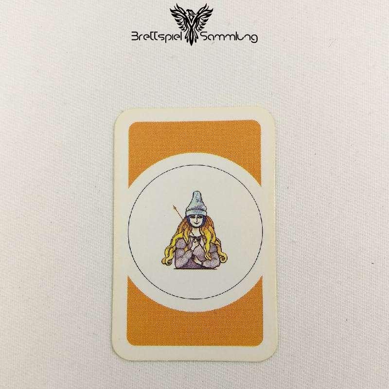 Das Verrückte Labyrinth Geheimniskarte Motiv Zauberlehrling #2