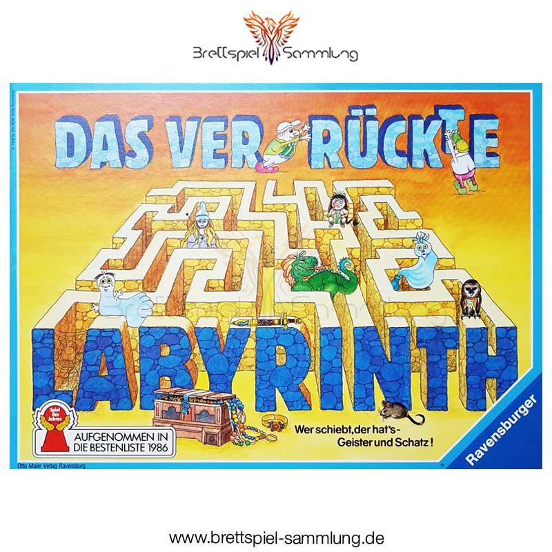 Brettspiel Sammlung Das Verrueckte Labyrinth Spiel