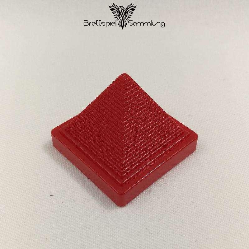 Der Zerstreute Pharao Pyramide Rot