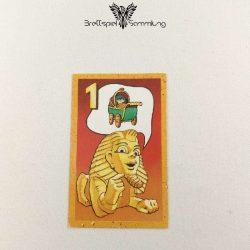 Der Zerstreute Pharao Suchkarte 1 Motiv Kinderwagen