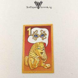 Der Zerstreute Pharao Suchkarte 1 Motiv Brille
