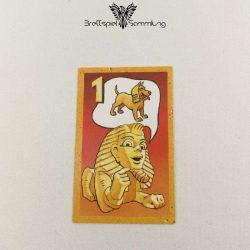Der Zerstreute Pharao Suchkarte 1 Motiv Hund