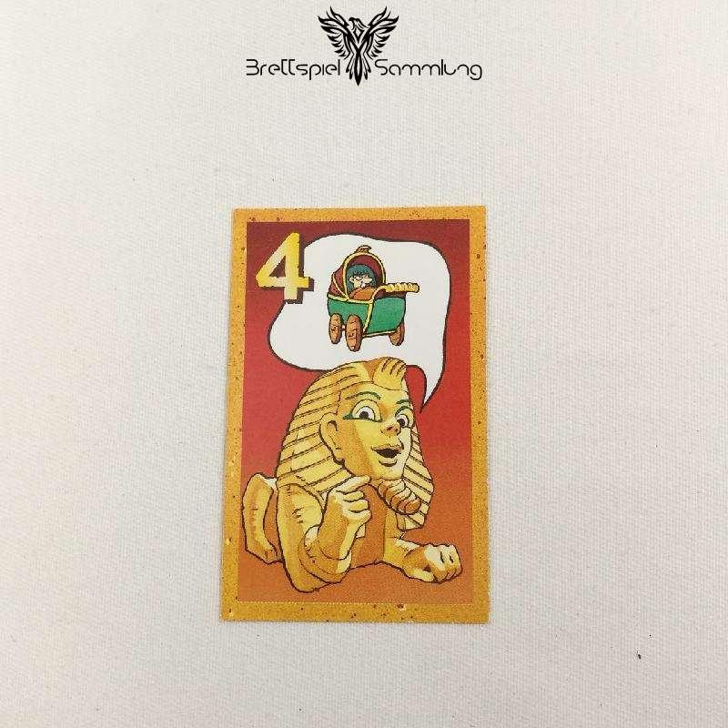Der Zerstreute Pharao Suchkarte 4 Motiv Kinderwagen