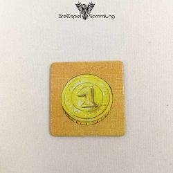 Diego Drachenzahn Plättchen Münze