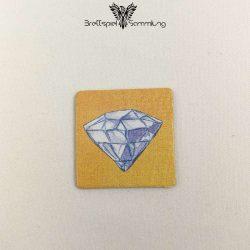 Diego Drachenzahn Plättchen Diamant