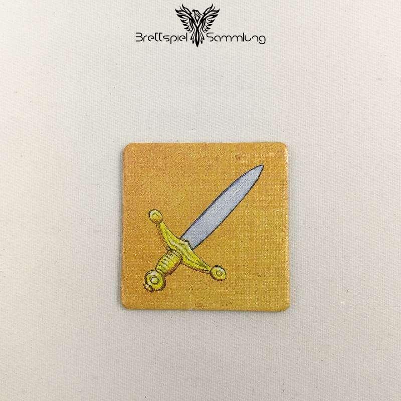 Diego Drachenzahn Plättchen Schwert