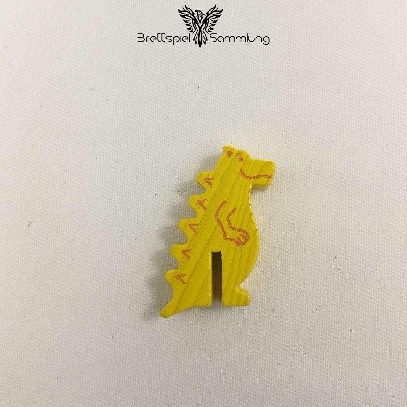 Diego Drachenzahn Spielfigur Drache Gelb