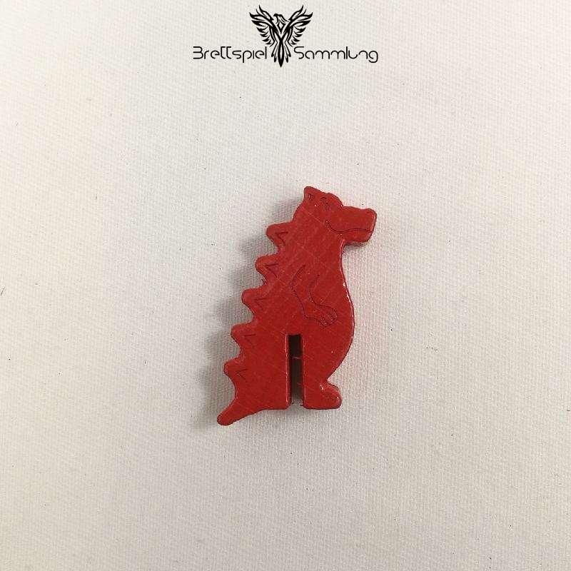 Diego Drachenzahn Spielfigur Drache Rot
