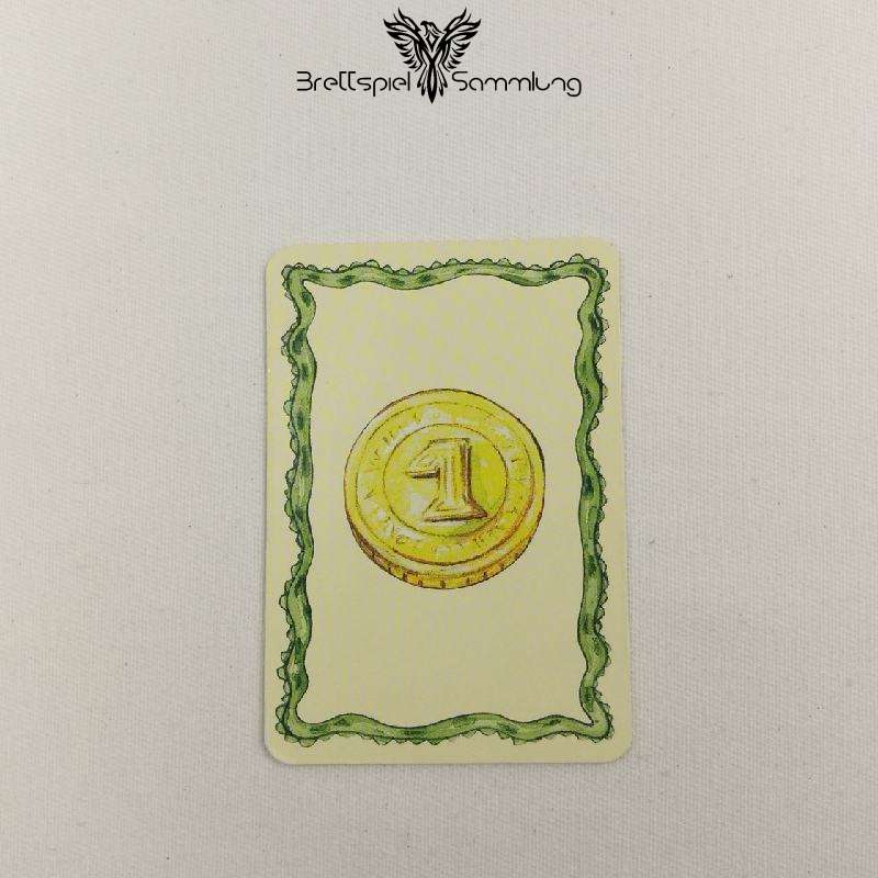 Diego Drachenzahn Karte Gelb Münze