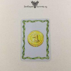 Diego Drachenzahn Karte Blau Münze