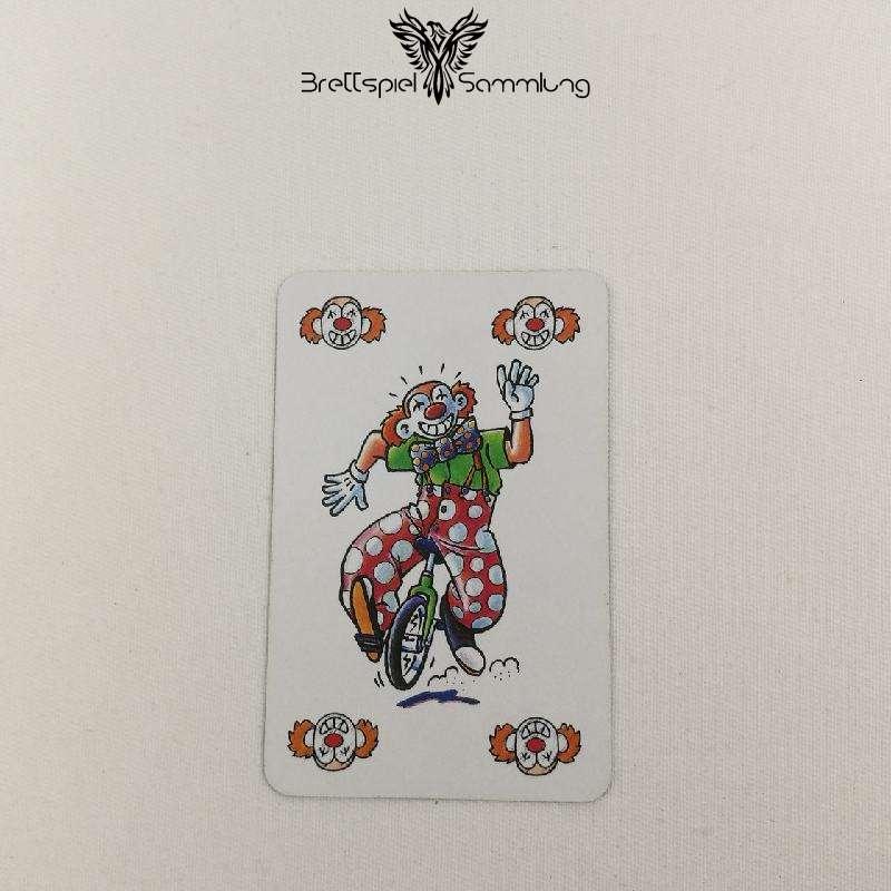 Feuerschlucker Spielkarte Clown