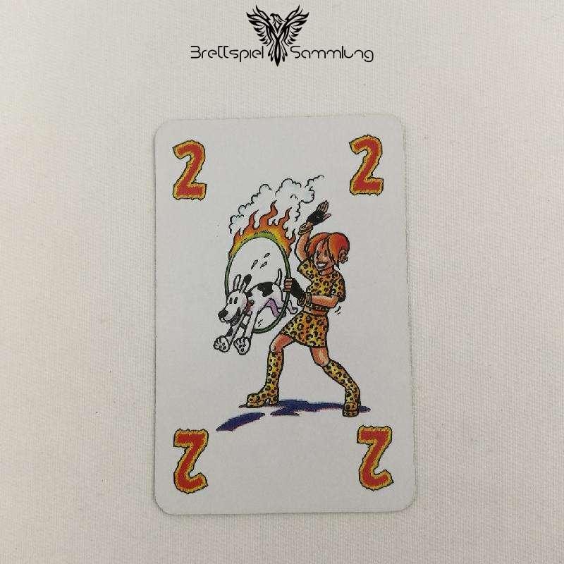 Feuerschlucker Spielkarte Domteur