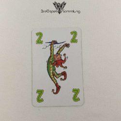 Feuerschlucker Spielkarte Akrobat