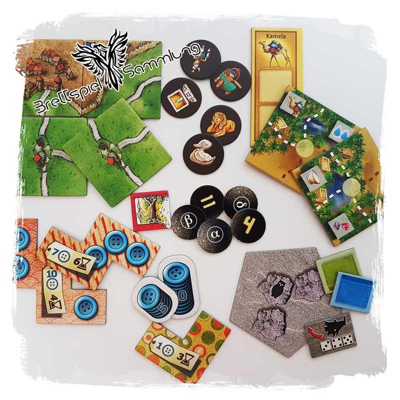 Brettspiel Sammlung Kategorie Plaettchen Marker