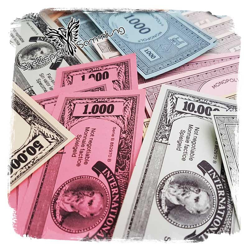 Brettspiel Sammlung Kategorie Spielgeld