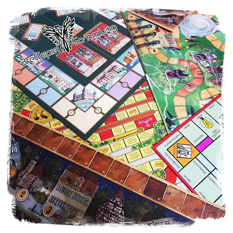 Brettspiel Sammlung Kategorie Spielplan