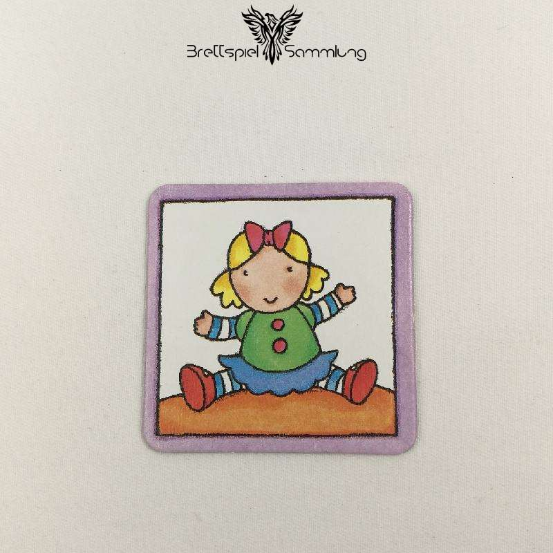 Mein Erstes Memory Bilderkarte Puppe