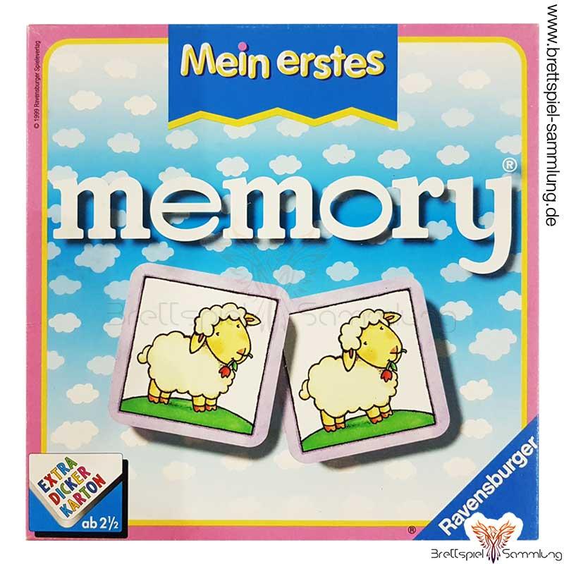 Brettspiel Sammlung Mein Erstes Memory Spiel
