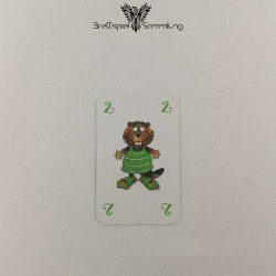Mein Lieber Biber Laufkarte 2 Biber Grün
