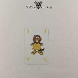 Mein Lieber Biber Laufkarte 3 Biber Gelb