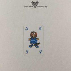 Mein Lieber Biber Laufkarte 5 Biber Blau