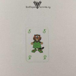 Mein Lieber Biber Laufkarte 5 Biber Grün