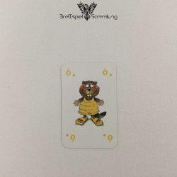 Mein Lieber Biber Laufkarte 6 Biber Gelb