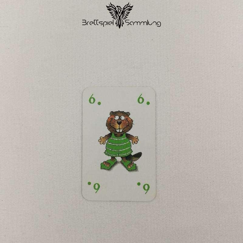 Mein Lieber Biber Laufkarte 6 Biber Grün