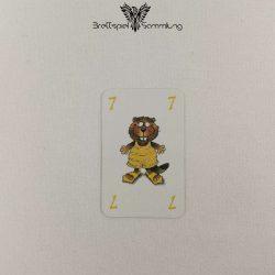 Mein Lieber Biber Laufkarte 7 Biber Gelb