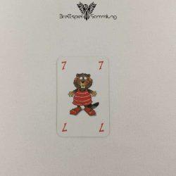 Mein Lieber Biber Laufkarte 7 Biber Rot