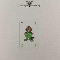 Mein Lieber Biber Laufkarte 7 Biber Grün