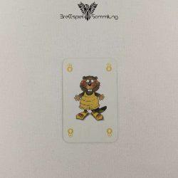 Mein Lieber Biber Laufkarte 8 Biber Gelb