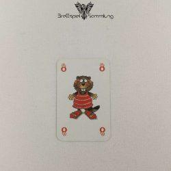 Mein Lieber Biber Laufkarte 8 Biber Rot