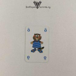 Mein Lieber Biber Laufkarte 8 Biber Blau