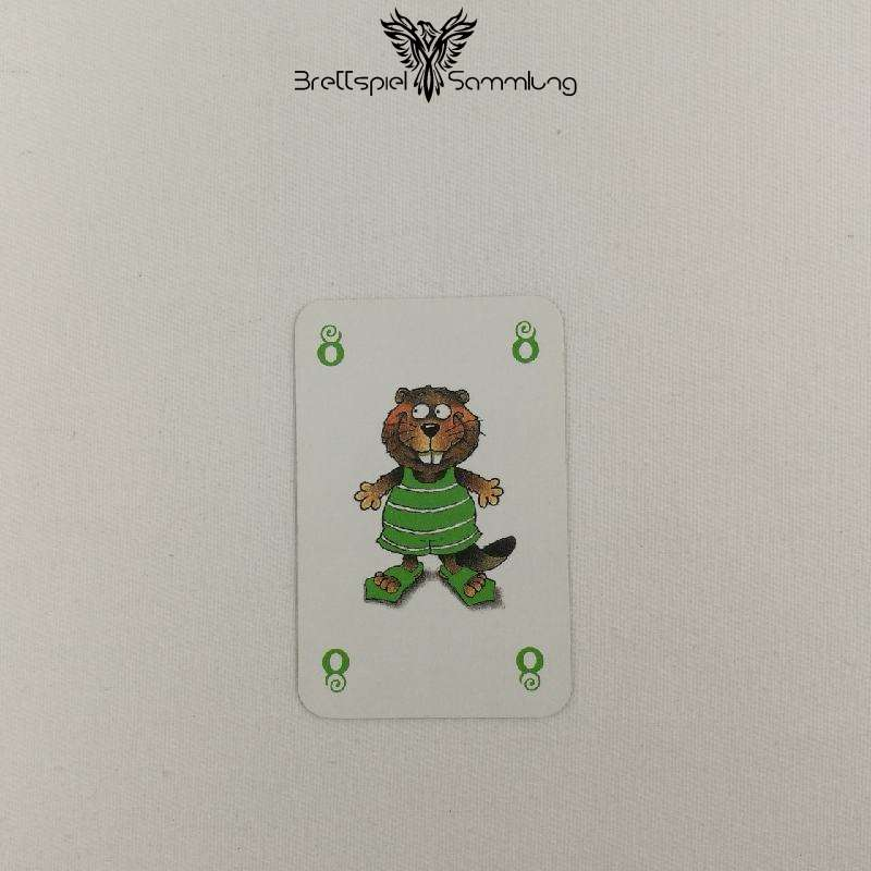 Mein Lieber Biber Laufkarte 8 Biber Grün