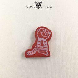 Mein Lieber Biber Spielfigur Holz Biber Rot