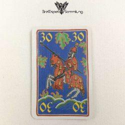 Rheinländer Spielkarte 30