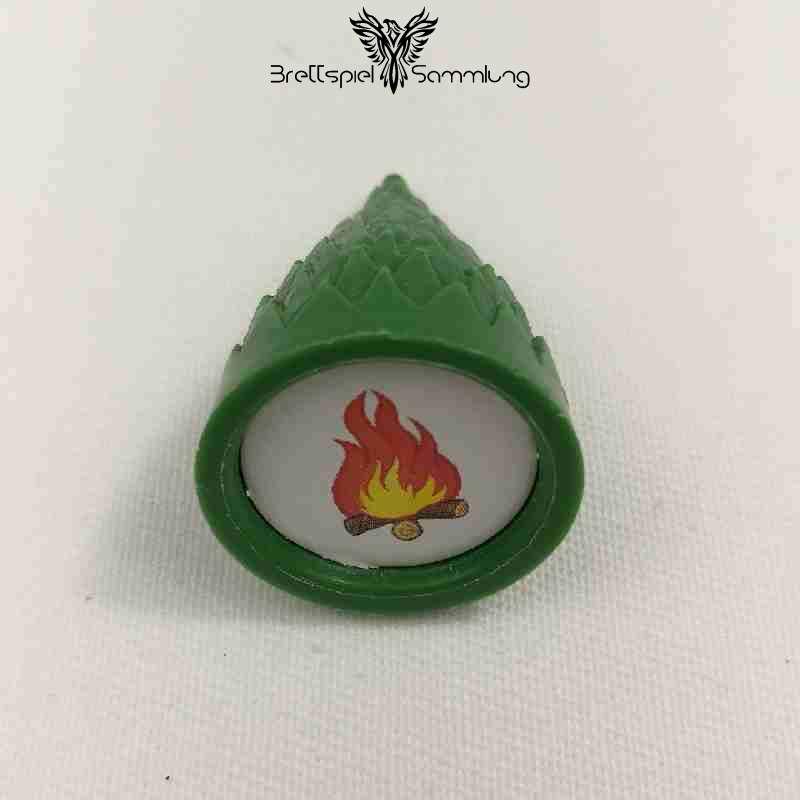Sagaland Baum Motiv Feuer