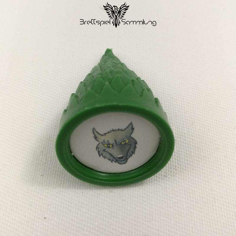 Sagaland Baum Motiv Wolf