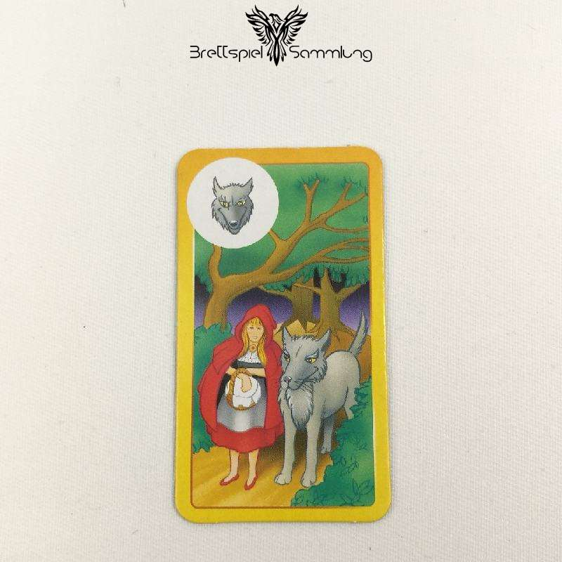 Sagaland Fragekarte Wolf