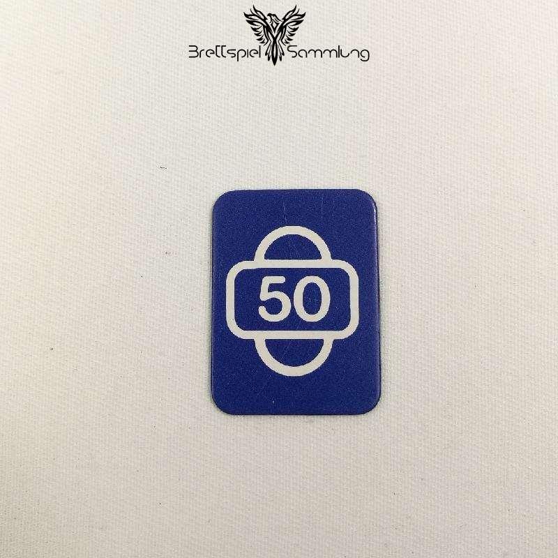 Scotland Yard Startkarte 50
